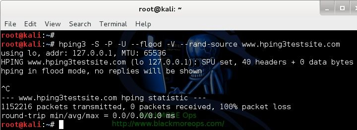 Denial-of-service-Attack-–-DoS-using-hping3-with-spoofed-IP-in-Kali-Linux-blackMORE-Ops-2