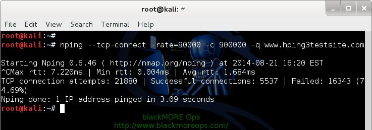 Denial-of-service-Attack-–-DoS-using-hping3-with-spoofed-IP-in-Kali-Linux-blackMORE-Ops-3